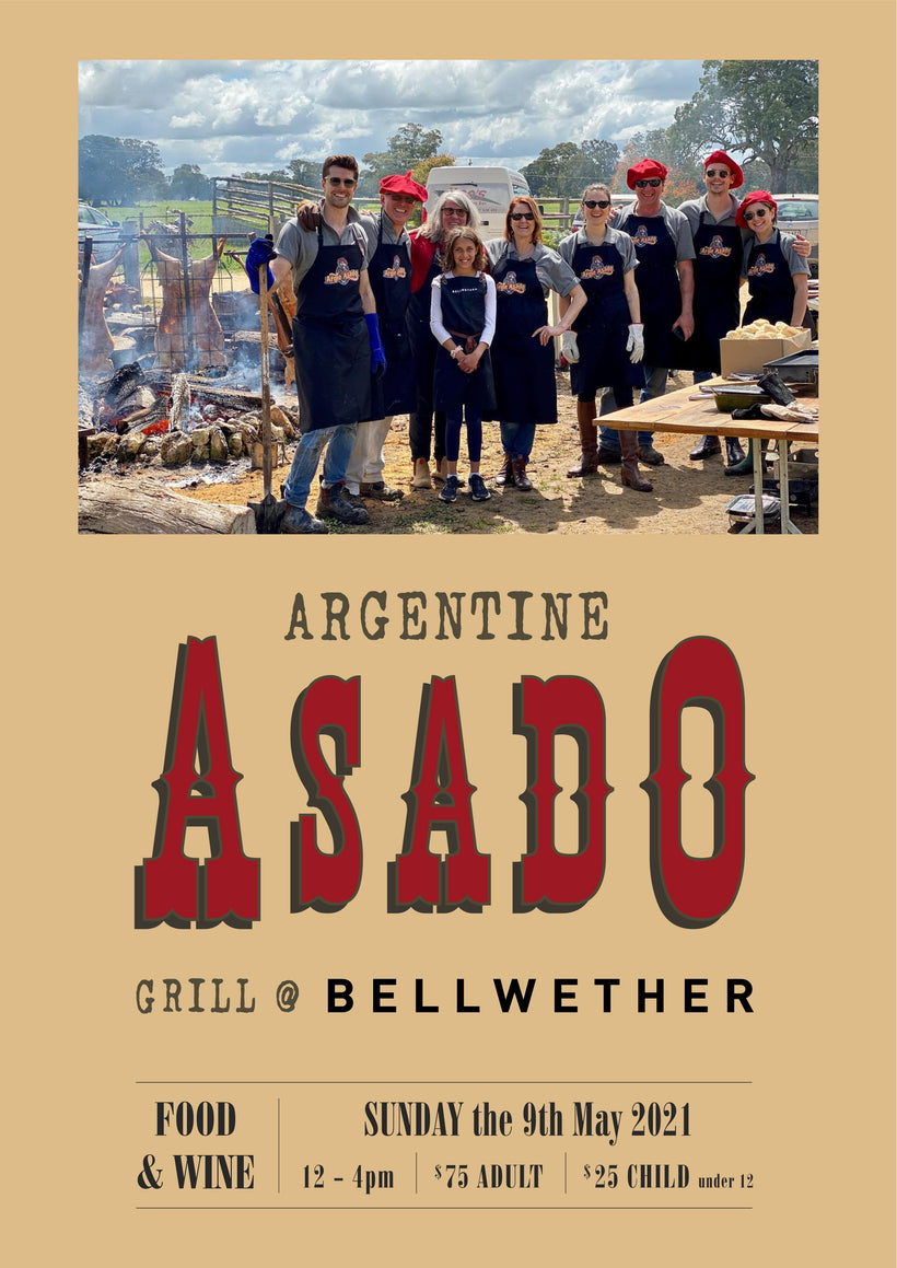 Argentine ASADO BBQ - 9th May 2021: Midday start