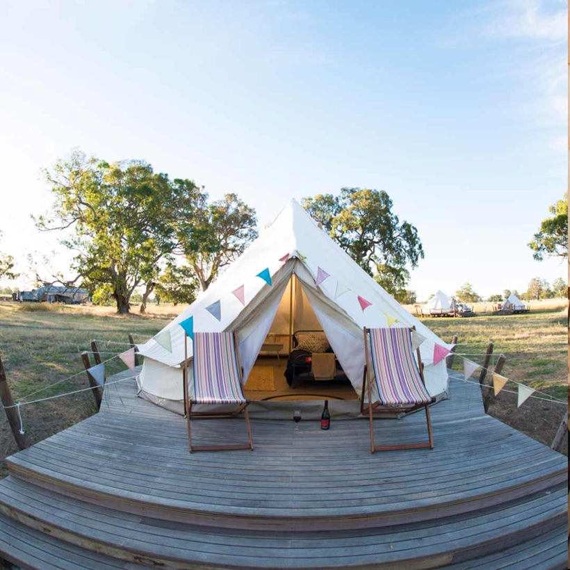 Glamping Bell Tent & BBQ pack | Voucher