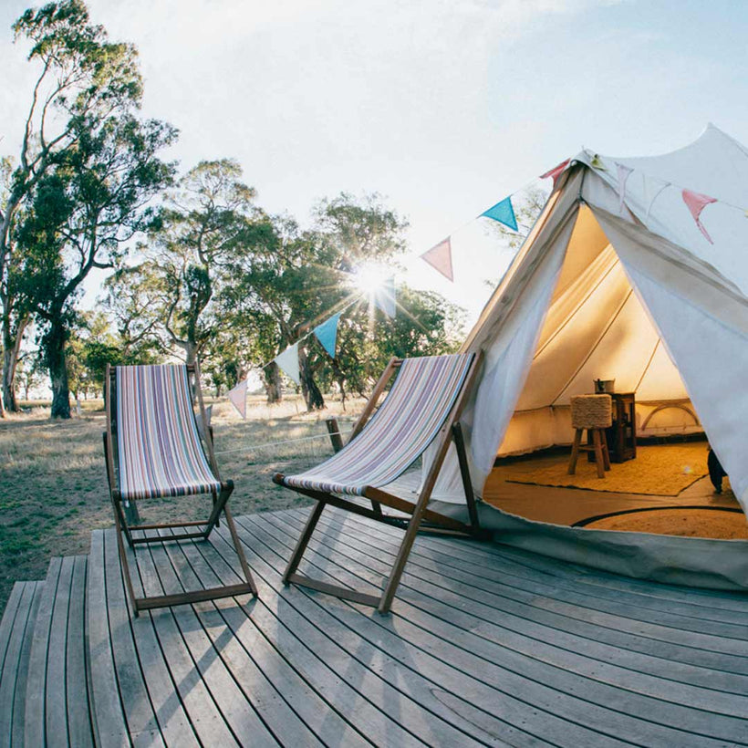 Twin Single Bell Tent | McDonald