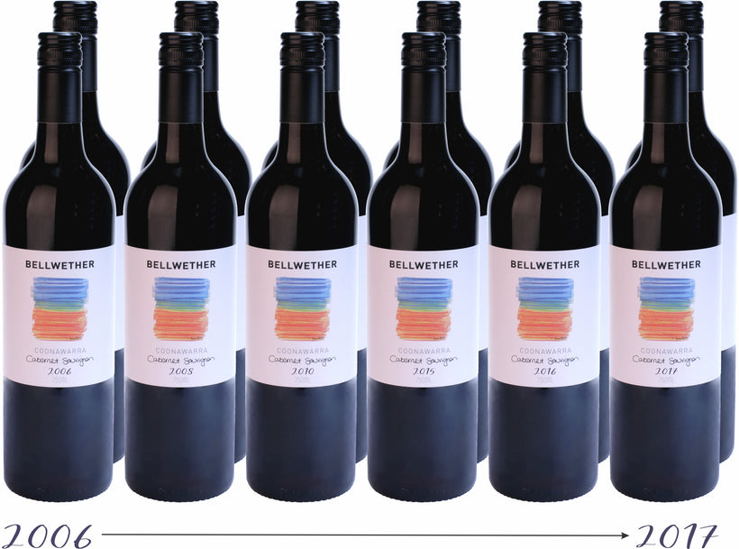 Past, present and future Bellwether Coonawarra Cabernet - Dozen