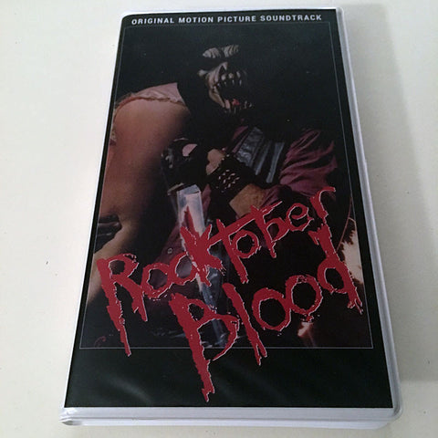 Rocktober Blood - OST Clam Shell Cassette