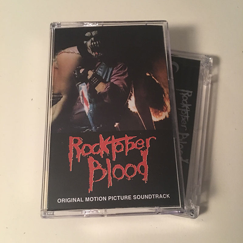 Rocktober Blood - OST Cassette