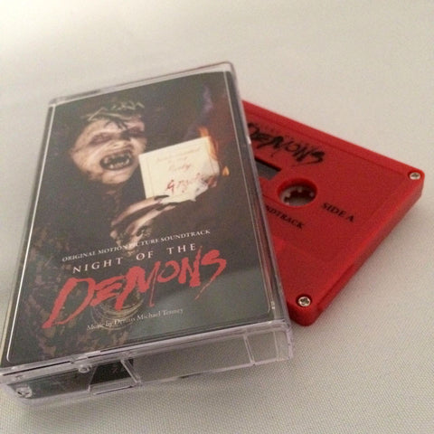 Night Of The Demons - OST Clamshell Case Cassette