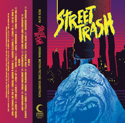 Street Trash - Original Motion Picture Soundtrack Cassette - Purple Shell