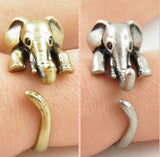 Cute Stylish Elephant Ring