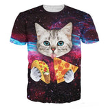 LIMITED EDITION CAT GALAXY T-SHIRT