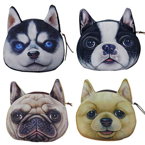 Cute Dog Coin Purse