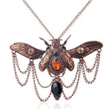 Amazing Steampunk Beatle Necklace
