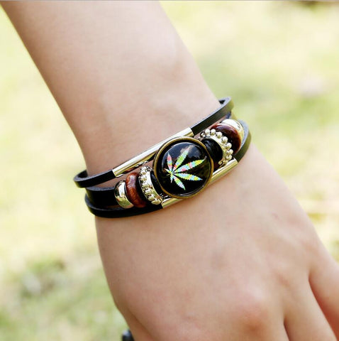 Free Weed Bracelet, Just Pay Shipping