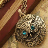 Adorable Owl Locket/Necklace