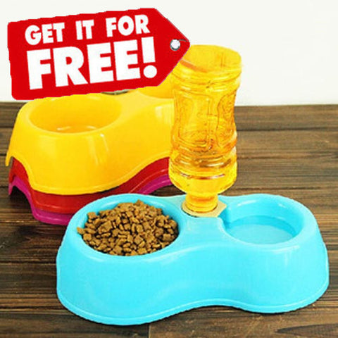 FREE Automatic Water Dispenser Dog Bowl