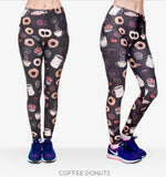 COFFEE AND DONUT LEGGINGS