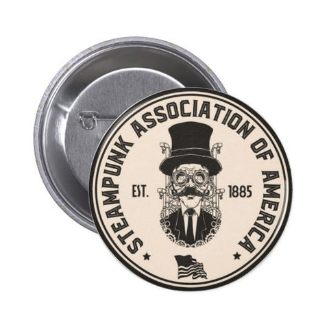 Official Steampunk Association Of America Pin