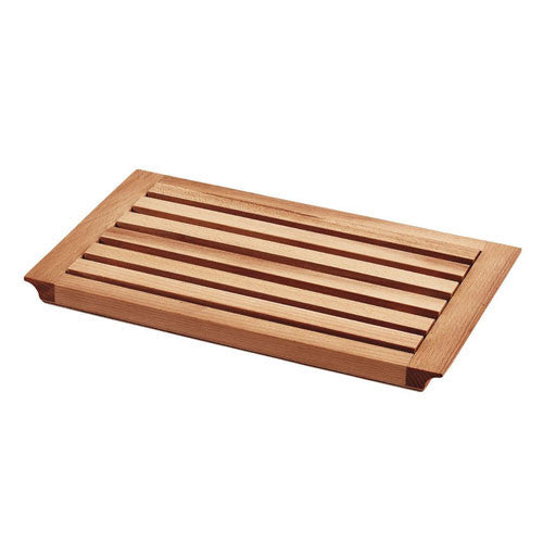 Bisetti Rectangular Beech Wood Cutting Board for Bread