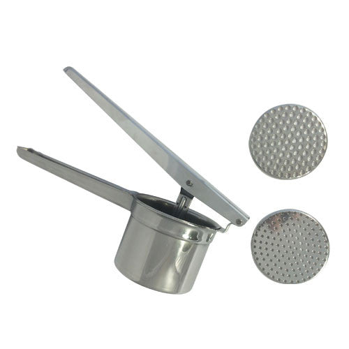 Eppicotispai Stainless Steel Potato Masher / Ricer With 2 Inserts