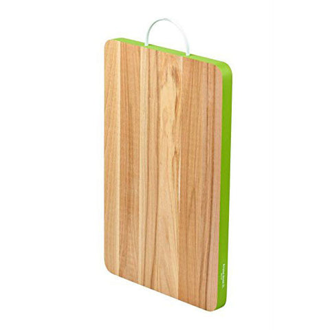 Bisetti Beechwood Cutting Board With Colored Edge