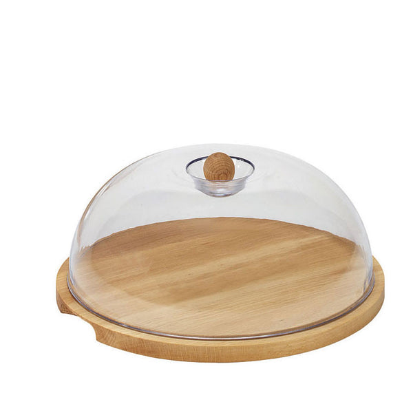 Bisetti Round Cheese Holder without Handles