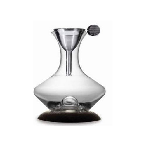 Legnoart Optimum Wine Decanter Set & Wood Base