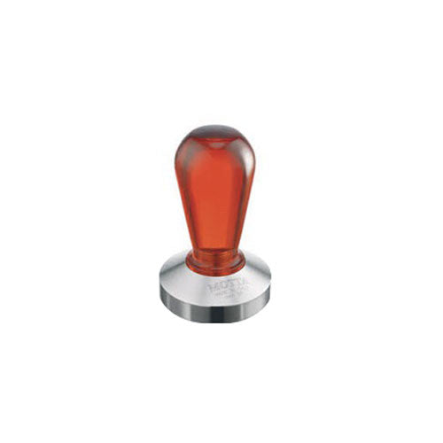 Motta Stainless Steel Rainbow Coffee Tamper, Red