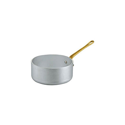 Ottinetti Brushed Aluminum Sauce Pan with 1 Handle, 12-cm / 4.7-in