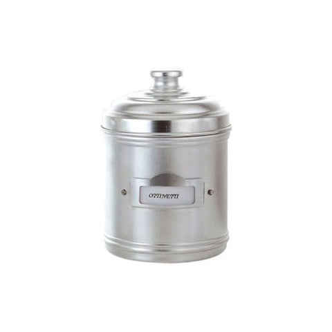 Ottinetti 1673DN13 Aluminium Storage Canister with Label Holder, 2.2-Quart
