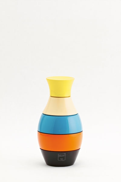 Bisetti Icons Vase Multicolor Lacquered Spice Mill, 6.30