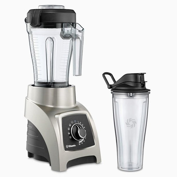 Vita-Mix S-Series High Performance Personal Blender S55, Brushed Stainless Finish