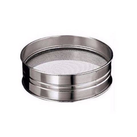 Cerutti Inox Reinforced Stainless Steel Medium Mesh Sieve, 30cm / 11.8-in