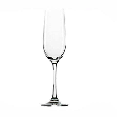 Stolzle Flute Glass, Set of 6. S2000007