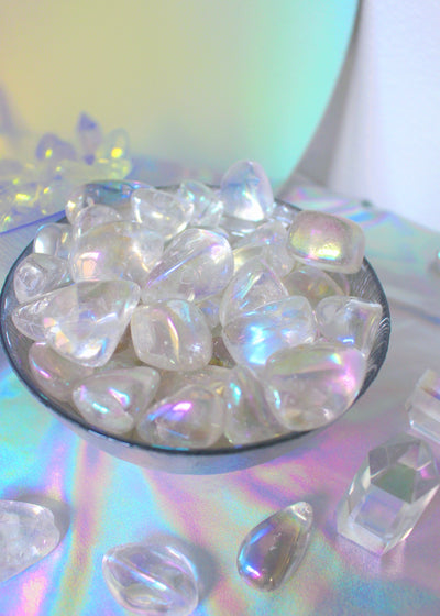 Angel Aura Tumbled Stones