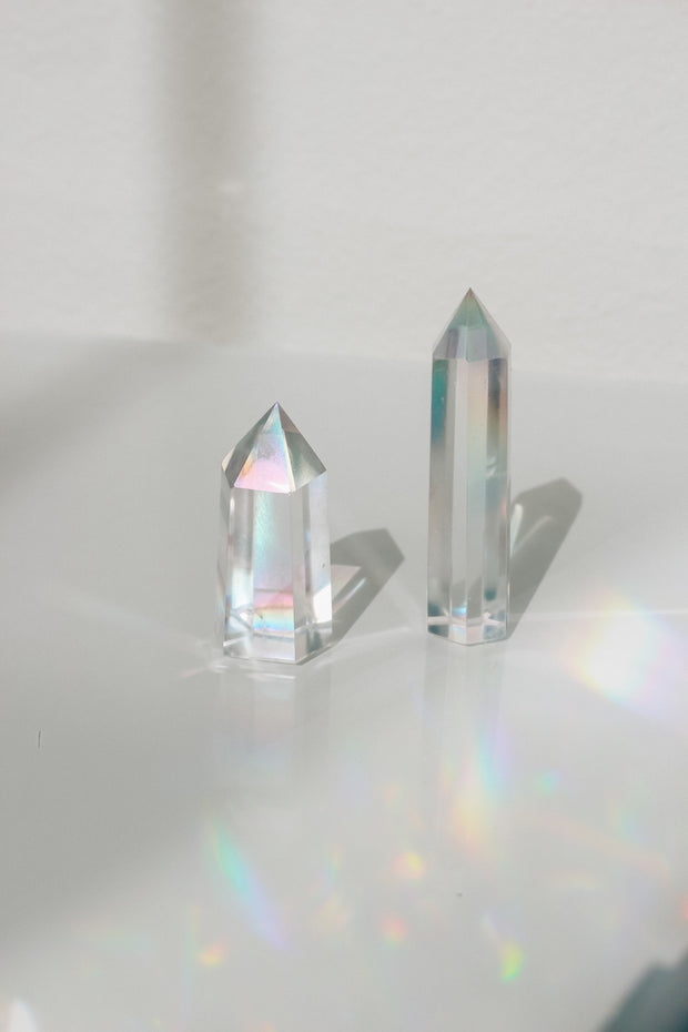 Angel Aura Quartz Tower Point