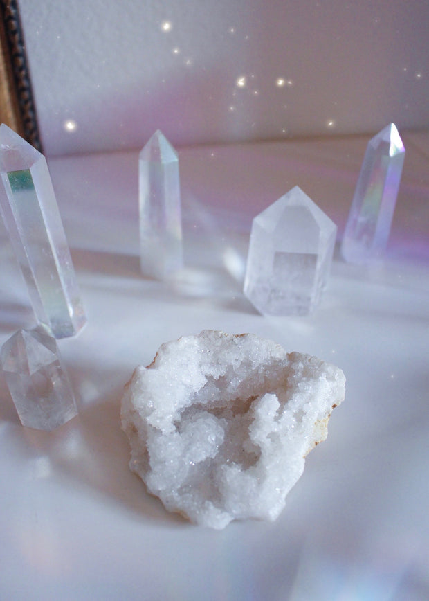 Quartz Crystal Geode