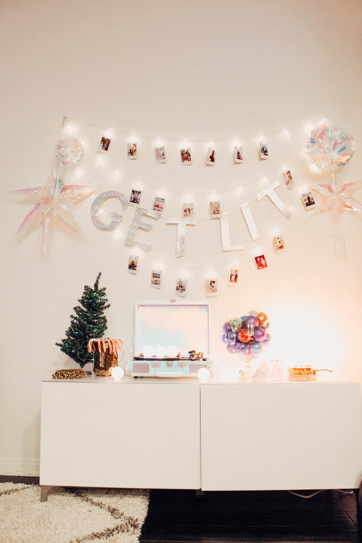 Polaroid Clip String Lights