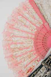 Burlesque Lace Festival Fan