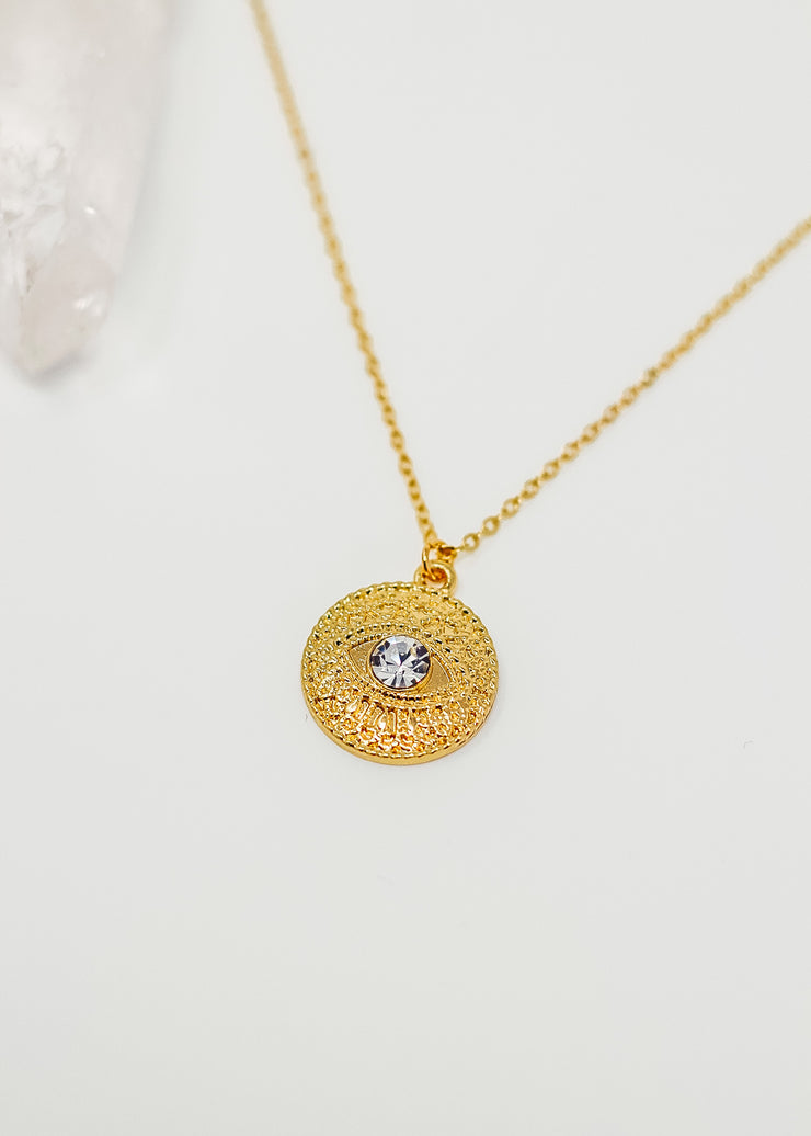 Diamond Eye Necklace
