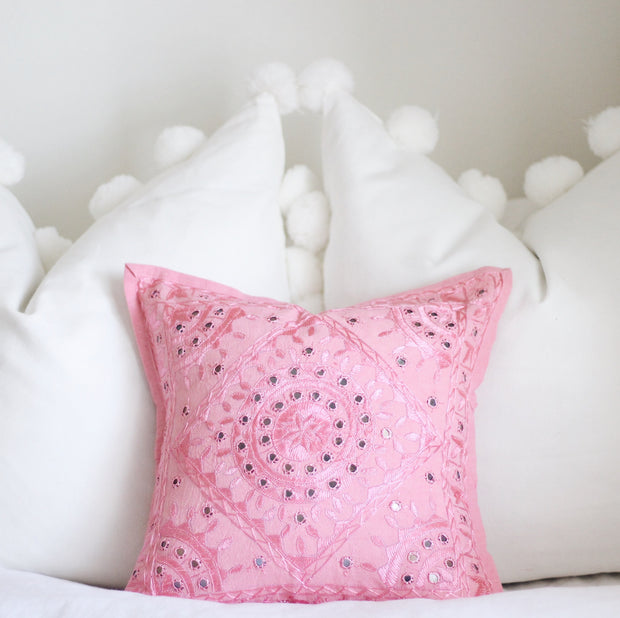Mirror Work Pillow Covers