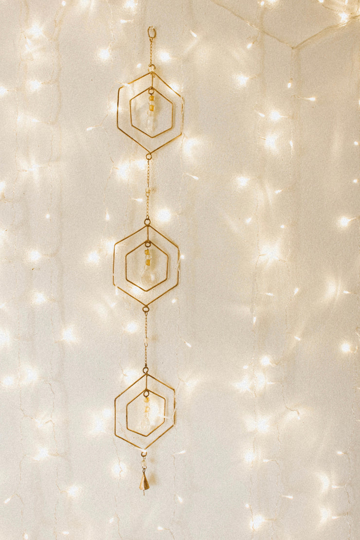 Hex Perspective Wall Hanging Decor