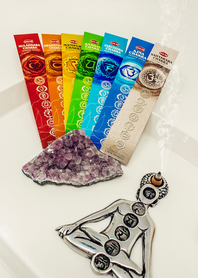 7 Chakra Incense Sticks