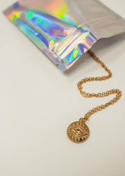 Aztec Eye Necklace