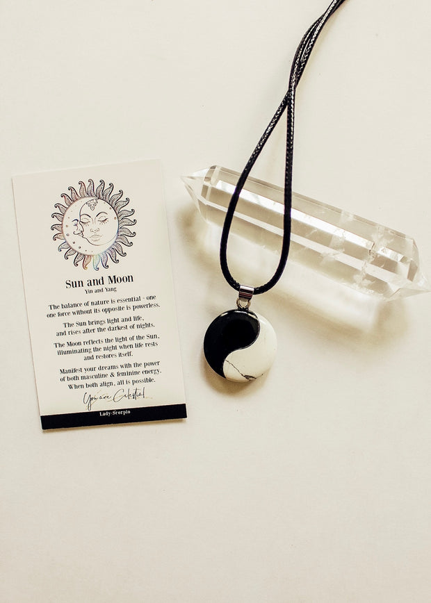 Yin Yang Balance Necklace