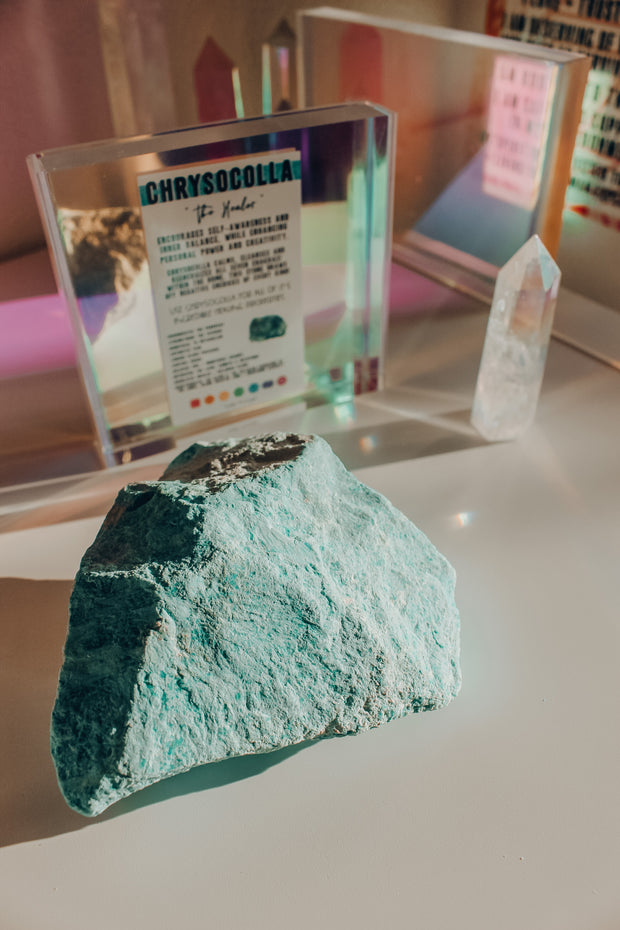 Chrysocolla Raw Stone