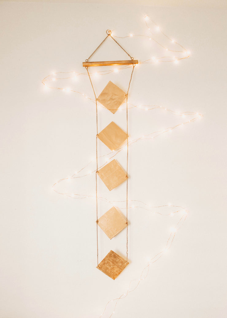 Diamond Perspective Wall Hanging Decor