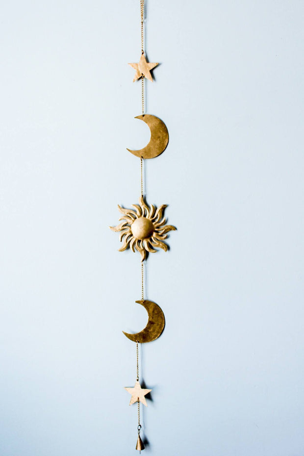 Sun Moon and Stars Wall Hanging Decor - Lady Scorpio ♡ - 3