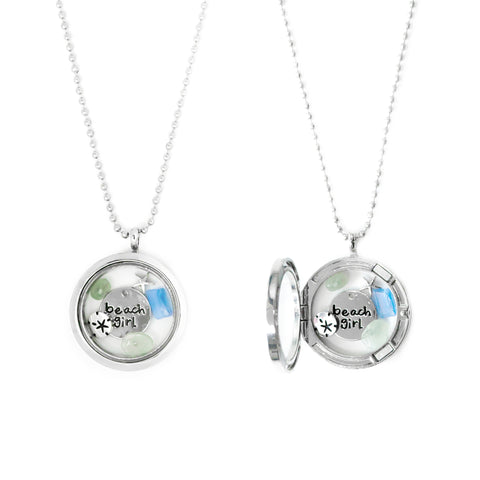 Beach Girl Locket
