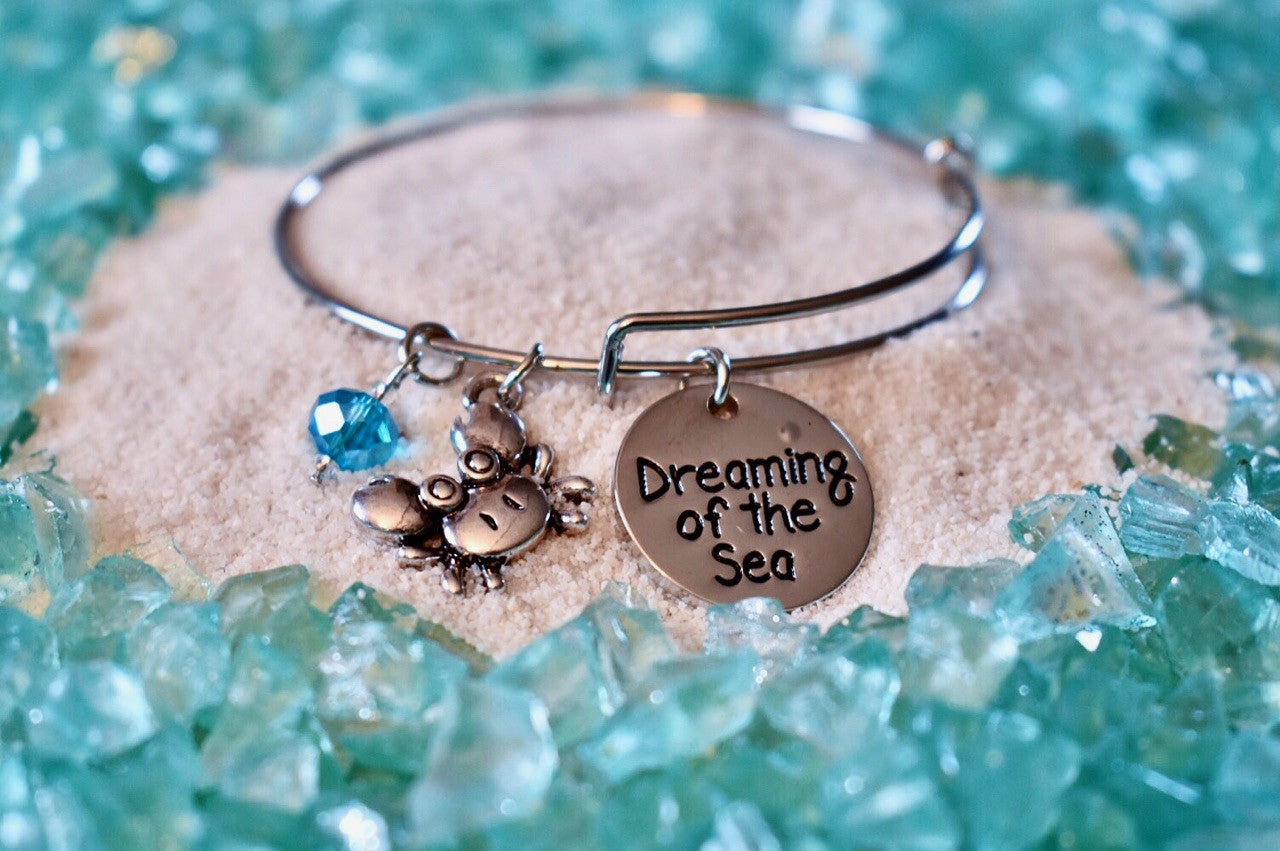 Dreaming Of The Sea Bangle Bracelet