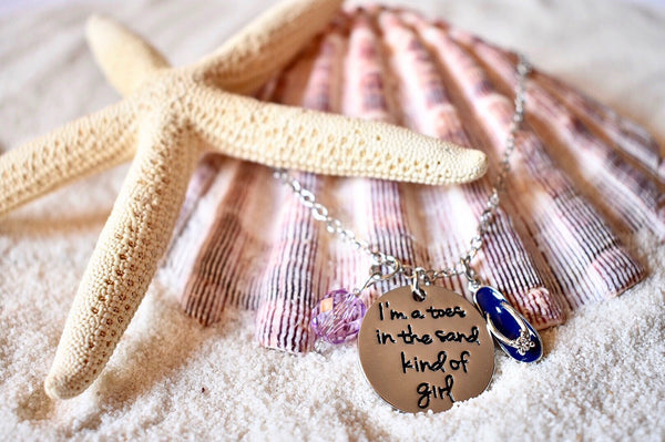 Toes In The Sand Necklace