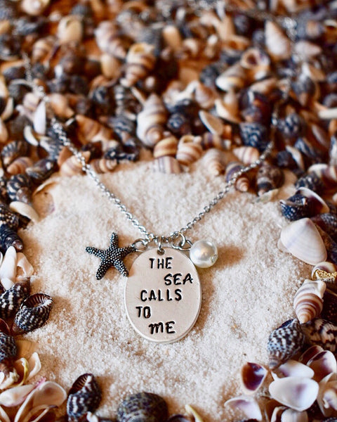 The Sea Calls To Me Necklace