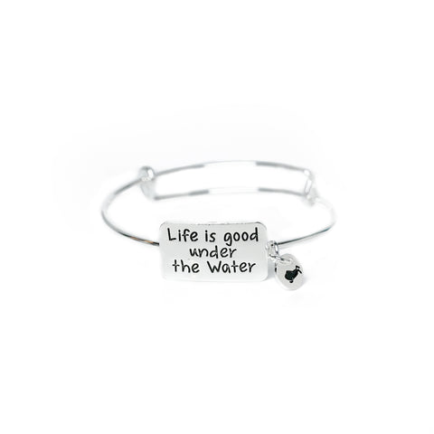 Life Is Good Under The Water Bracelet