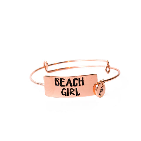 Beach Girl Bliss Bracelet Rose Gold