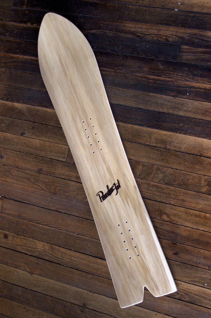 GYPSY wooden powder snowboard